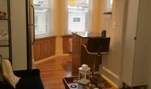 Cedar Park 1 bedroom apartment in Victorian twin for rent
