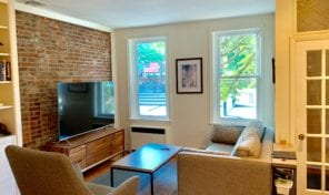 Corner home for rent across from Schuylkill River Park!